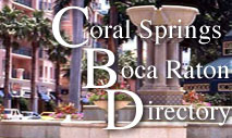 Coral Springs Boca Raton Directory Restaurants Shopping